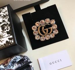 2019 campane di natale calze Carino spilla spilla per gioielli di partito vestito abbigliamento accessori perla lega strass moda donna maglione regalo cuore spille