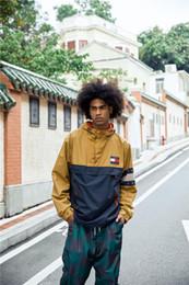 hombre gore tex chaquetas Rebajas 19FW marca lujosa Diseño Color a juego TH chaqueta Mujeres Hombres Cazadora Sudaderas Suéter Streetwear Sudaderas con capucha al aire libre Abrigo