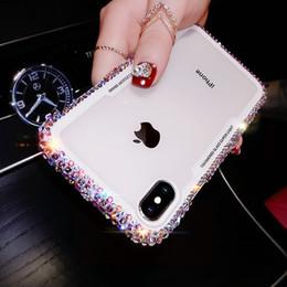 Yaratıcı lüks moda elmas cep telefonu shell kılıf iphone 7 8 x xr xs max Tanrıça tarzı glitter telefon kılıfı nereden tanrıçasız elmas tedarikçiler
