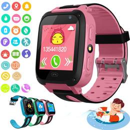 Meilleurs enfants montre intelligente en Ligne-Montre intelligente pour enfants Q9 Enfants anti-perte intelligente montres Smartwatch LBS Tracker regarde SOS appel pour Android IOS meilleur cadeau pour les enfants