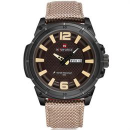 Nueva Semana Muestra TheCalendar Indicador de 24 horas Reloj de pulsera de cuarzo de lujo Fecha deportiva Reloj Marca Hombres Reloj de nylon ocasional desde fabricantes