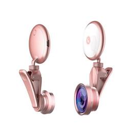 2019 lampada di ancoraggio RK19S cellulare effetti speciali ancora lente bellezza spia dell'autoscatto grandangolare cellulare luce di riempimento per: iphone Samsung sconti lampada di ancoraggio