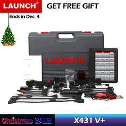 Ecu de lançamento on-line-Lançamento X431 V + Ferramenta de Diagnóstico Automotivo Sistema Completo de Diagnóstico Ferramentas de Varredura Scanner de Carro Autoscanner Codificação ECU X 431 V Plus