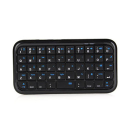 Drahtlose Mini-Tastatur wiederaufladbare Bluetooth-Tastaturen für Tablet PS4 Telefon Raspberry Pi XR649 von Fabrikanten