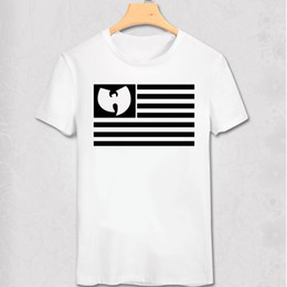 shirts musik Rabatt WU TANG-T-Shirt Wu Tang Clan T-Shirt Hip Hop-Art T-Shirt WU TANG Hip-Hop-Musik Charlie Brown 2PAC Rap DJ Cool Tee Shirt Y200409