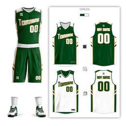05abd4c1c4f Cheap Men Kids Women Basketball Training Jersey Set Pockets Reversible Sport  Kit Customized Basketball Jersey Uniforms Suit