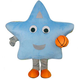 2019 traje estrela mascote Desconto de fábrica de venda de luxo Deluxe Star Mascot Costume EVA com Fan Playground Carnaval desconto traje estrela mascote