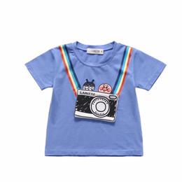 Gomop Deer Summer Basic Childrens Short Sleeve Tee Short T Shirts