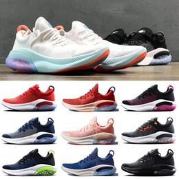 zapatillas vintage Rebajas NIKE JOYRIDE RUN FLYKNIT zapatos zapatillas de correr para hombre triple negro blanco rosado Vino para mujer deportes zapatillas deportivas Respirable moda vintage 36-44