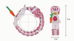 Filmes de desenhos animados baratos on-line-Bloco de construção de lego tecer pulseiras de personagem de filme de desenho animado amor estudantes crianças presentes baratos pulseira 2019 novo 517