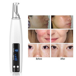 hair machine salon Promo Codes - Portable Rechargeable Laser Tattoo Removal Pen Scar Spot Pigment Therapy Anti Aging Home Salon Spa Use Picosecond Beauty Device Machine