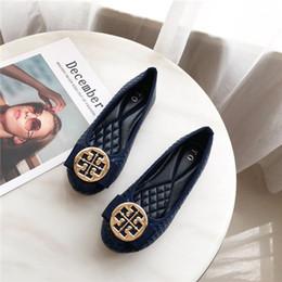 Chaussures coréennes taille en Ligne-Souliers simples de grande taille tombent en 2019, version coréenne rétro, avec des haricots plats et des chaussures plates