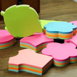 Заметки цвет страницы онлайн-Emo Pads Kawaii Sticky Notes Школьные канцелярские наклейки Candy Color 100 страниц DHL