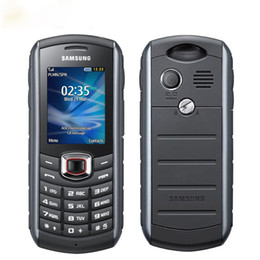 Yenilenmiş Smartphone Ucuz Samsung B2710 Orijinal Unlocked Cep Telefonu 1300 mAh GPS 2.0 inç 2MP Kamera 3G Su Geçirmez Tam Set nereden ucuz 3g cep telefonları tedarikçiler