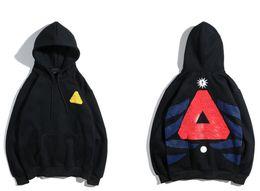 Hip hop street mens ropa online-Diseñador sudadera con capucha para hombre Logo Triangle palacios marca sudaderas con capucha moda sudadera con capucha hip hop ropa de moda de calle pullover hombres mujeres sudaderas