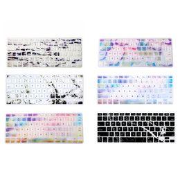 marmo macbook Sconti Cover in silicone per tastiera in silicone design per MacBook 13 15 17 Cover per tastiera morbida