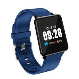 J07 Inteligente relógios 1.44 Tela Colorida IP67 À Prova D 'Água de Freqüência Cardíaca de Pressão Arterial e Monitoramento De Oxigênio Esportes Anel de Mão Relógio, relógio inteligente de Fornecedores de assistir iso