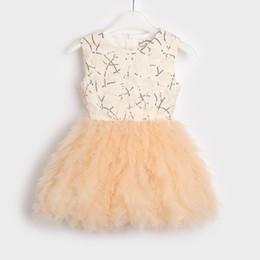 Canada Nouveau Style Bébé Fille Tutu Robe Enfants Sans Manches Baptême Tulle À Paillettes De Mariage Parti Princesse Robes Tout-petit Filles Vêtements Offre