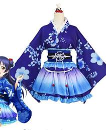 LoveLive Cosplay Sonoda Umi Cosplay Kostüm Kimono Love Live Nishikino Maki Honoka Honoka Eli Kimono Kostüm von Fabrikanten