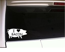 Life Is Better With Pigs Farm Cute Bacon Funny Graphic Decal Sticker Vinyl