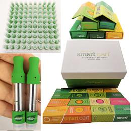 Intelligente stifte online-Smartbud Vape Cartridges 0.8ml Magnetische Schachtel Organische Smart Carts Vape Stift Grün Leere Vaporizer Keramikspule Zerstäuber E Zigaretten