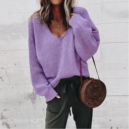 2019 maglioni donna collo cotone Primavera donne maglioni a maniche lunghe con scollo a V colorato cardigan allentato di lusso stile europeo e americano ragazze pizzo abiti
