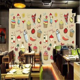 2019 etiqueta de comida personalizada Tamaño personalizado foto 3d papel tapiz mural de la habitación Ilustraciones de Alimentos Americanos Imagen de fondo sofá TV telón de fondo papel tapiz no tejido etiqueta de la pared etiqueta de comida personalizada baratos