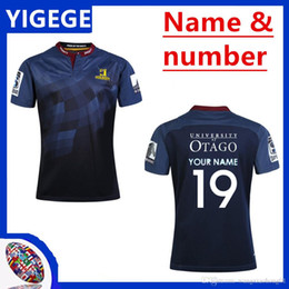 41d37d6c0 2019 camisetas de rugby de las mujeres 2019 Super Rugby Highlanders Jersey  19 20 Camisa deportiva