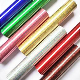 Holographic Brushed Chrome Heat Transfer Vinyl-Eisen auf T-Shirt DIY Regenbogen-Eisen auf HTV Regenbogen Holographic Heat Transfer Viny von Fabrikanten