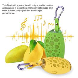 2019 музыкальные усилители Водонепроницаемый Bluetooth Динамик Мини-Манго Сабвуфер Динамик Портативный Крюк Открытый Усилитель Музыкальный Плеер Противоударный Bluetooth Динамик скидка музыкальные усилители