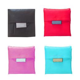 Складная экологичная многоразовая сумка для покупок большой емкости Маленькая квадратная дорожная сумка для покупок Сумки для хранения на плечах supplier eco friendly square bags от Поставщики эко-квадратные сумки