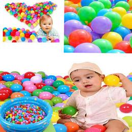 marchi di piscine Sconti Nuovissimo 20/50 / 100PCS bambini 5,5 cm palle da biliardo giocattoli per bambini palle oceano per giocare a biliardo