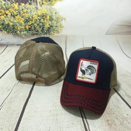 Canada Nouveau animal brodé casquettes de baseball pour les hommes et les femmes d'été européenne et américaine personnalité de la mode casquettes hip-hop hip-hop casquette en gros cheap american baseball caps wholesale Offre