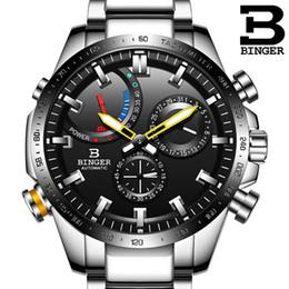 механические часы Скидка Подлинная Luxury Швейцарии переедания марк Мужчина автоматической механическое Luminous Водонепроницаемого Полные стальной ремень мужская мода часы MX190724