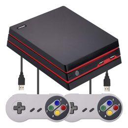 Coolbaby RS-34 ретро классическая игровая консоль HD AV Аркада двойной выход 600 игр ТВ видеоигры консоль поддержка SD-карты от