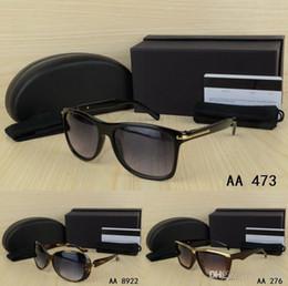 Marcos de anteojos para hombre negro online-Retro grueso negro marco estilo para mujer de la mujer gafas de sol de marca con caja dama gafas gafas chica UV400 gafas Feminino gafas de sol gafas