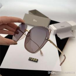Gafas de personalidad multi color online-Diseñador de gafas de sol de lujo hombres y mujeres de moda gafas de sol personalidad tendencia gafas multicolor opcional envío gratis!