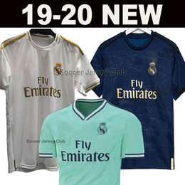 champions sports Coupons - 19 20 Real Madrid Soccer Jersey 2019 2020 BALE ISCO EA Sports ASENSIO MODRIC KROOS SERGIO RAMOS Champions League Thailand football shirt