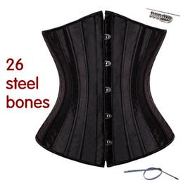 vestido corset de una pieza Rebajas abdomen de la novia de las mujeres con el corsé del cinturón de la cintura del corsé del corsé del bustier sexy vestido bustier underbust que adelgaza la ropa interior superior 1 faja