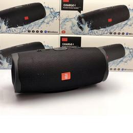 mejores altavoces bluetooth portátiles de bajo Rebajas Altavoz portátil Bluetooth Carga 4 deportes impermeable sin hilos de altavoz estéreo con 20 horas de batería de teléfono del altavoz FM Música Columna