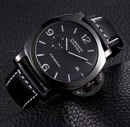 Argentina 16 Relojes de cuarzo para hombre de la marca Panerai Top Luxury Reloj con correa de cuero MILITARE Reloj para hombre Suministro