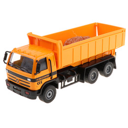 901bec9e4c704 Plastic Construction Vehicles Toys Dump Truck For 1-3 Year Old Baby Toddlers