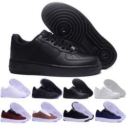 Nike air force one Stile classico Uomo Donna Per 1 One Scarpe da corsa Famose scarpe da ginnastica sportive da skateboard Bianco Nero Eur 36 45
