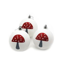Decorazioni da party di 15 anni online-3Pcs Christmas Balls Baubles Party Xmas Tree Decorations Hanging Ornament Decor New Year 2019 Christmas Balls # 15