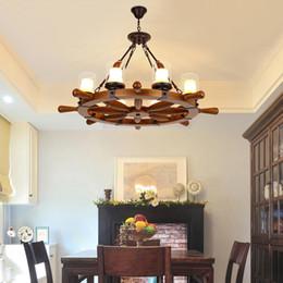Industrieller Hanfseil-Leuchter der Edison Light Ceiling Lamps Decor hängt Retro