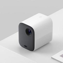 2019 filmes de telefone Xiaomi Mijia MJJGTYDS02FM DLP Projetor Full HD 1080 P 30000 LED Vida Wifi Bluetooth Para Telefone Computador Música Filme 3D filmes de telefone barato