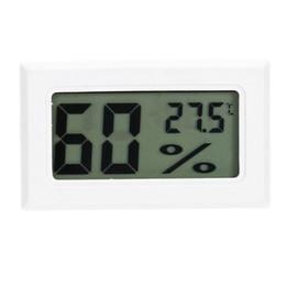 Petit Mini Humidité Compteur De Température Mini LCD Numérique Réfrigérateur Intérieur Capteur De Température Électronique Hygromètre Jauge Type D'affichage Numérique ? partir de fabricateur