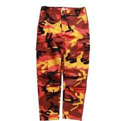 Pantalon yeezus en Ligne-2018 marée marque pantalons pour hommes fournir un nouveau design yeezus tourers de haute qualité aapes hommes femmes pantalons camouflage joggeurs pantalon 8 couleurs