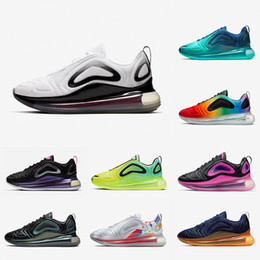 Max schuhe heiß online-nike Air Max 720 airmax 720 shoes Hot Drop Versand Speckle Pride Spirit Teal Männer Frauen Laufschuhe Gym Red Obsidian Ostern Pack Total Orange Herren Sport Turnschuhe