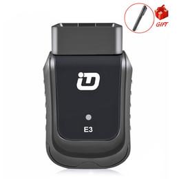 Ferramentas de serviço vw on-line-Scanner E3 V10.7 OBD2 WiFi Sistemas Completos de Diagnóstico Ferramenta Auto Scanner para Diag / EXP / Principal Serviço de Substituição Da Bateria DPF